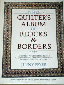 The Quilter's Album of Blocks and Borders  Quilt Book  -  QK