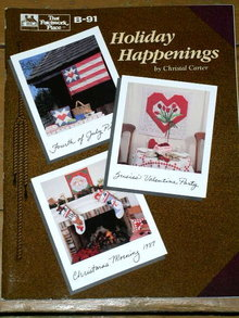Holiday Happenings  -  Quilt Book  -  QK _ Sale item