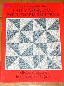 Early American Patchwork Patterns -  Quilt Book  -  QK