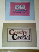 Down A Country Road, Cross-Stitch  Booklet  -  PTB