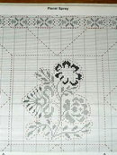 Colonial Quilted Patterns, Cross-Stitch  Booklet  -  PTB