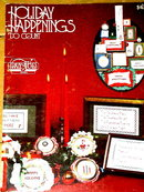 Holiday Happenings, Cross-Stitch  Booklet  -  PTB