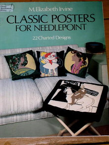 Classic Posters for Needlepoint Booklet  -  PTB