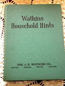 Watkins Household Hints -  Book