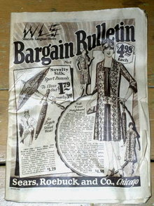 Sears, Roebuck & Co. Bargain Bulletin Catalog  -  MZ