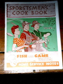 Sportsmen's Cook Book, 1945  -  CK