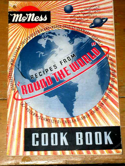 McNess Recipes from Around the World  Cook Book  -  CK