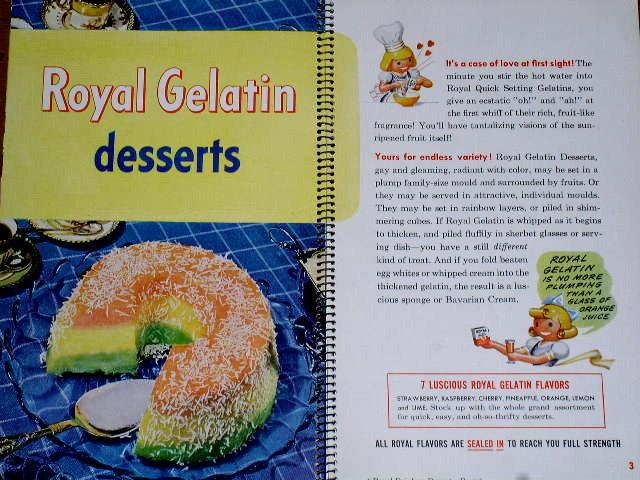 Royal Recipe Parade Cook Book  -  CK