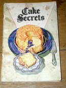 Cake Secrets  Cook Book  -  CK