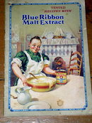 Blue Ribbon Malt Extract  Cook Book  -  CK