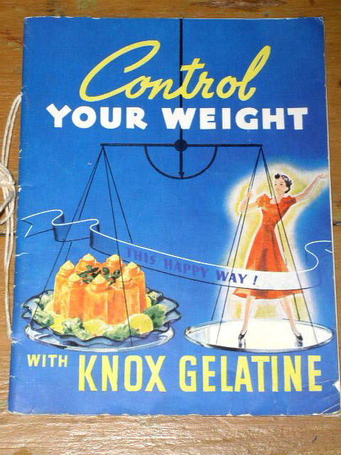 Control Your Weight with Know Gelatine  Cook Book  -  CK