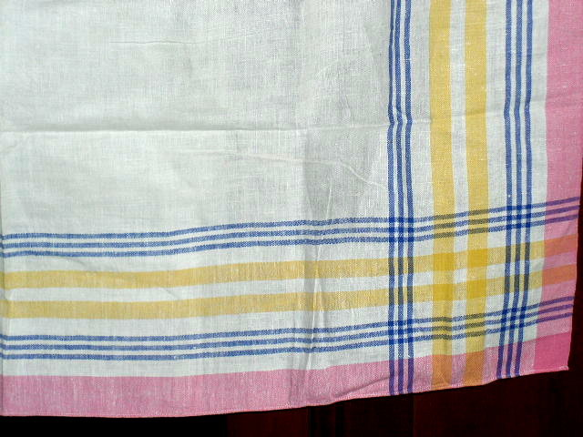 Linen Tablecloth, 1940's