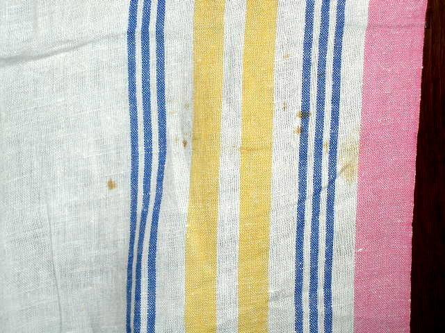 Linen Tablecloth, 1940's