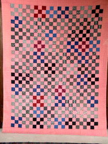 Nine Patch Quilt  -  QLT