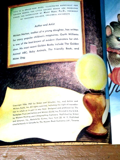 The Kitten Who Thought He Was A Mouse, First Printing,  Little Golden Books