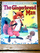 The Gingerbread Man,  Second Printing, Little Golden Book