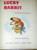 Lucky Rabbit,  First Printing, Little Golden Book