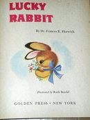 Lucky Rabbit,  First Printing, Little Golden Book