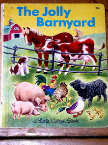 The Jolly Barnyard,   Little Golden Book