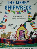 The Merry Shipwreck,  First Printing,   Little Golden Book