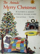 The Animals Merry Christmas, First Printing,  Little Golden Book