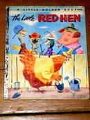 The Little Red Hen,  First Printing,    Little Golden Book