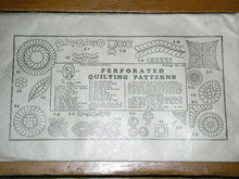 Perforated Quilting Patterns  -  PTB