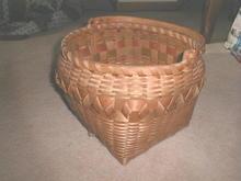 Winnebago Indian Basket with Handle