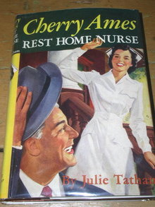 Cherry Ames -  Rest Home Nurse  Book, First Printing