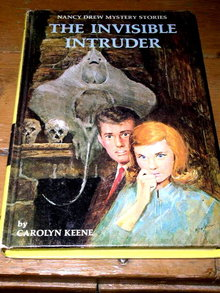 Nancy Drew - The Invisible Intruder  Book