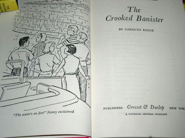 Nancy Drew - The Crooked Banister  Book