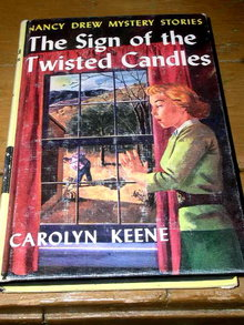 Nancy Drew -  The Sign of the Twisted Candles  Book