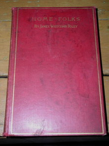 Home-Folks  Book by James Whitcomb Riley