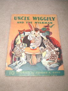 Uncle Wiggily and the Milkman Book