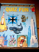 Quiz Fun, First Printing, Little Golden Book