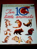 Ten Little Animals, First Printing, Little Golden Book