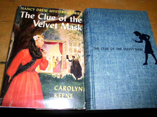 Nancy Drew, The Clue of the Velvet Mask  Book, 1st Prtg,