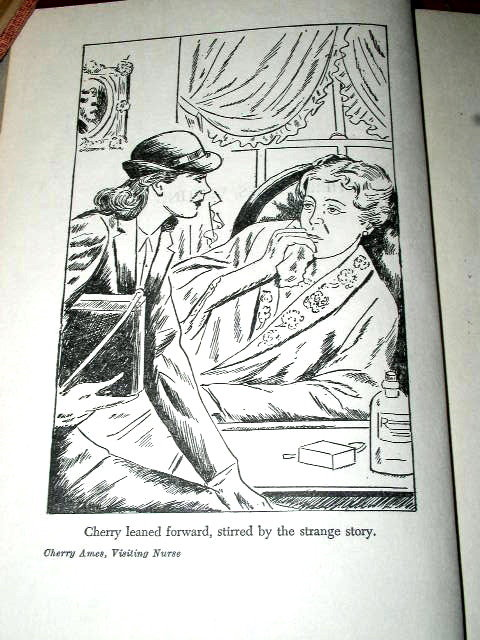 Cherry Ames -  Visiting Nurse   Book
