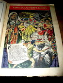 Classics Illustrated Comics,   King Solomon's Mines #97