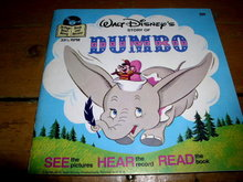 Disney's Dumbo, Book and Child's Record