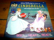 Disney's Cinderella.  Book and Child's Record