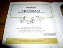 Disney's Cinderella.  Book and Child's Record