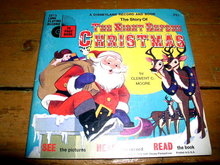 Disney The Night Before Christmas,  Book and Child's Record
