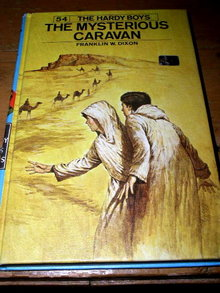 Hardy Boys,  The Mysterious Caravan  Book