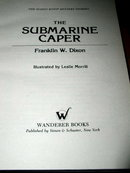 Hardy Boys,  The Submarine Caper  Book