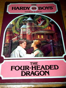 Hardy Boys,  The Four-Headed Dragon  Book