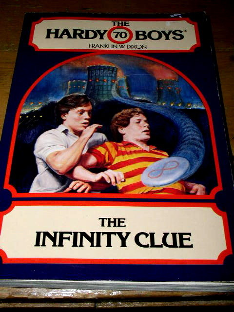 Hardy Boys,  The Infinity Clue  Book