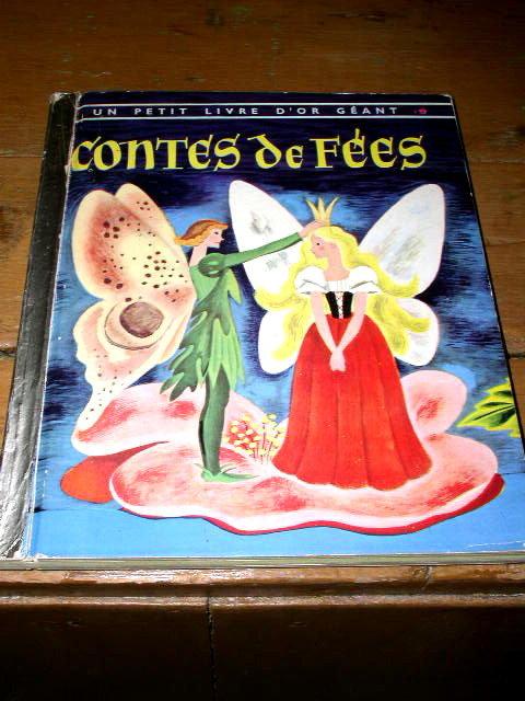 Contes de Fees, French Little Golden Book
