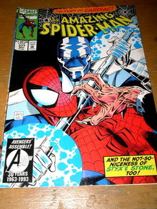 The Amazing Spiderman, The Fury of Cardiac, #377,  comic