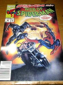 Web of Spiderman, Spirits of Venom, part #3, #96,  comic
